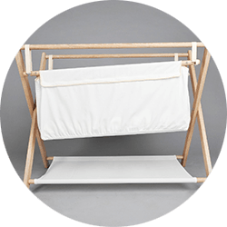 Practical anti reflux cradle